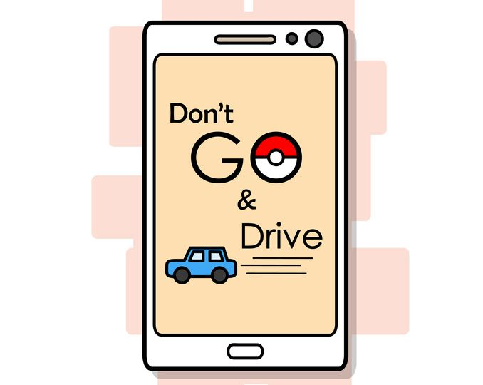 Don't Pokemon Go and Drive. Always pay attention to the road